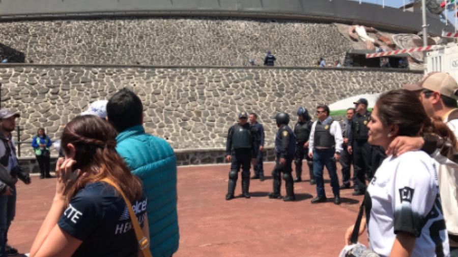 Tras partido de Pumas y América detienen a 18 personas