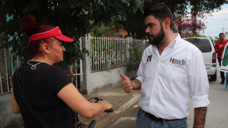 Visita Horacio Seoane a estructura del partido