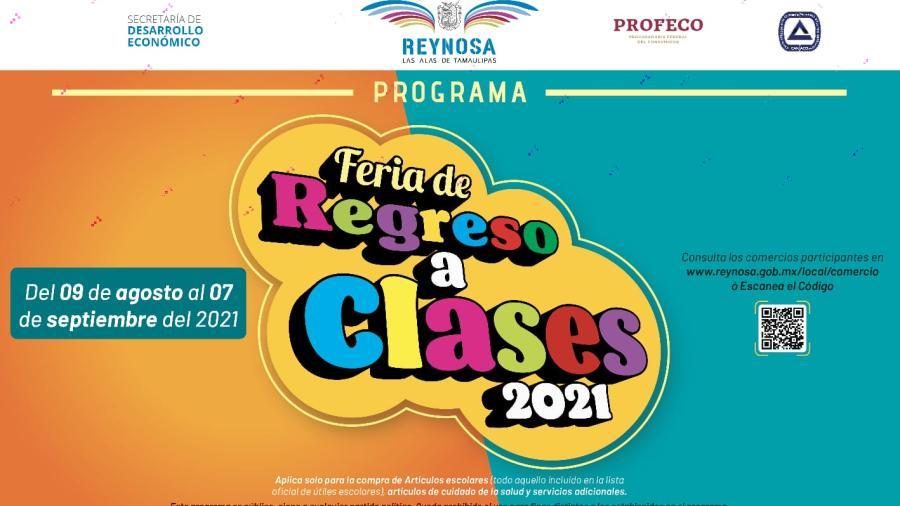 Invita Municipio a aprovechar últimos días de la Feria de Regreso a Clases 2021