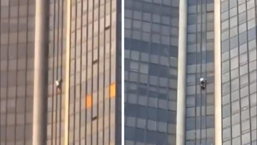 Intenta escalar edificio de París y es arrestado