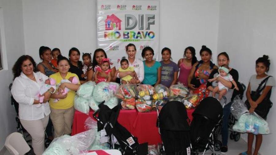 Brinda DIF Río Bravo apoyo a madres adolescentes