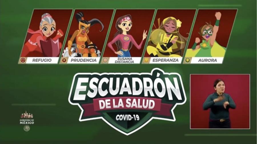 """""""Escuadrón de la Salud"""": los nuevos personajes que acompañan a Susana Distancia"""