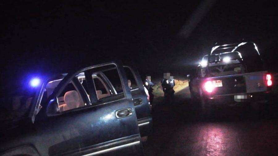 Aseguran Policía Estatal, vehículo