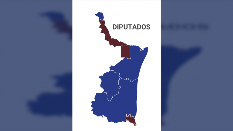 Diputados:  Al cierre del PREP, MORENA gana 5 distritos y PAN con 4.