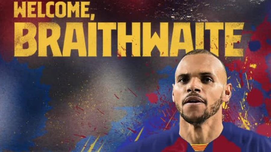 El Barcelona ficha a Braithwaite