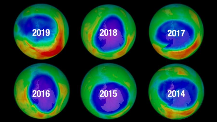 Agujero en capa de ozono es de menor tamaño: NASA
