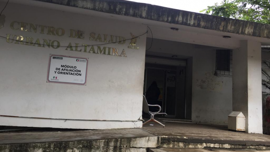 Serias fallas en la infraestructura del centro de salud de Altamira