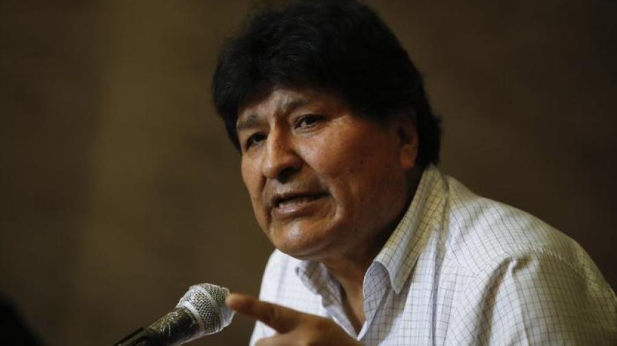 Anulan orden de aprehensión contra Evo Morales