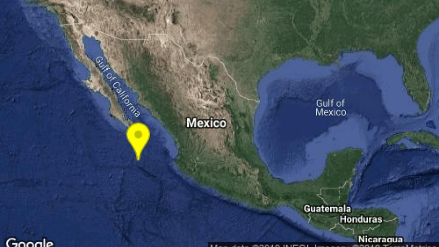 Sismo de 5.8 sacude Baja California Sur