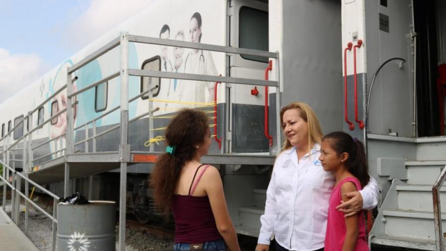 Doctor Vagón llega a Altamira