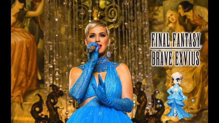 Katy Perry llega a Final Fantasy