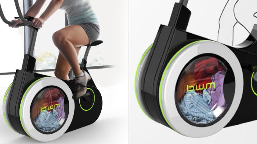¿Bici-lavadora? Ahora podrás estar saludable mientras lavas tu ropa