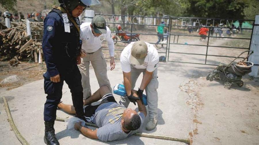 Detienen a 400 migrantes en Chiapas