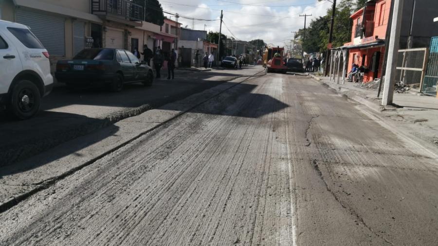 Inician trabajos de rehabilitación en conocida avenida con recursos del predial