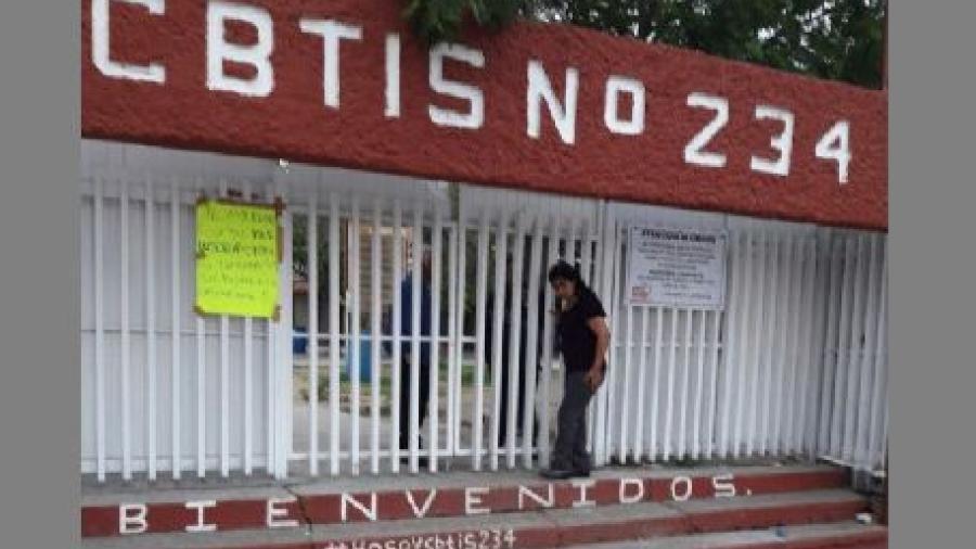 Por amenaza de atentado suspenden clases en Cbtis 234