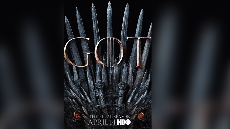 "Revelan el nuevo póster de ""Game of Thrones"", temporada 8"