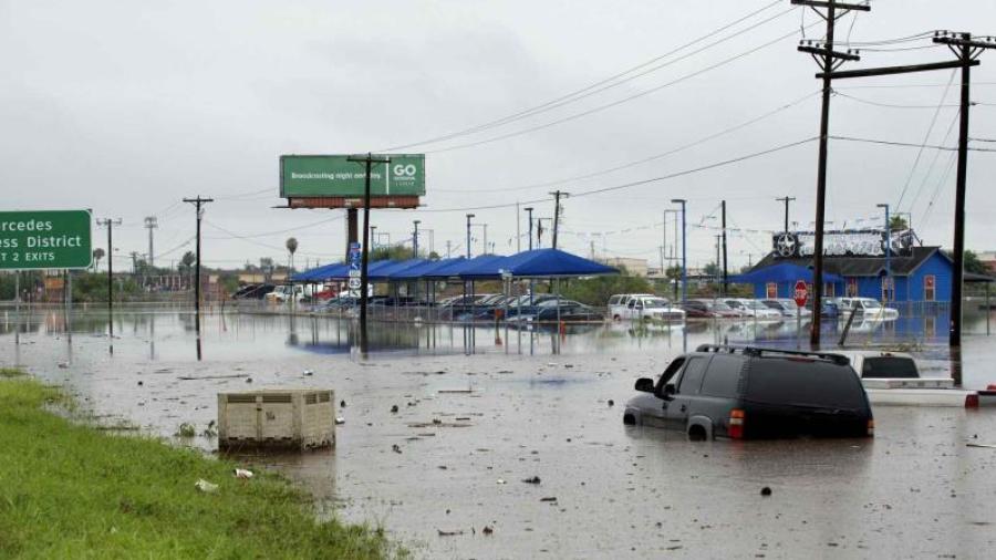 Continuaran inundaciones en Texas
