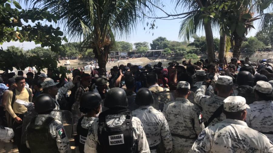 Dará Marcelo Ebrard informe sobre situación en la frontera sur