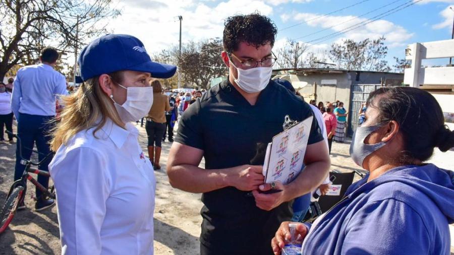 """""""DIF Reynosa en Tu Casa"""" lleva hasta los domicilios de los beneficiarios programas médicos y asistenciales"""