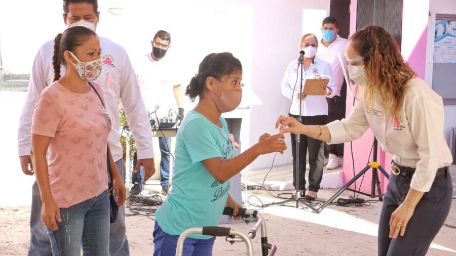 Beneficia DIF Madero a mujeres con estudios de mastografía