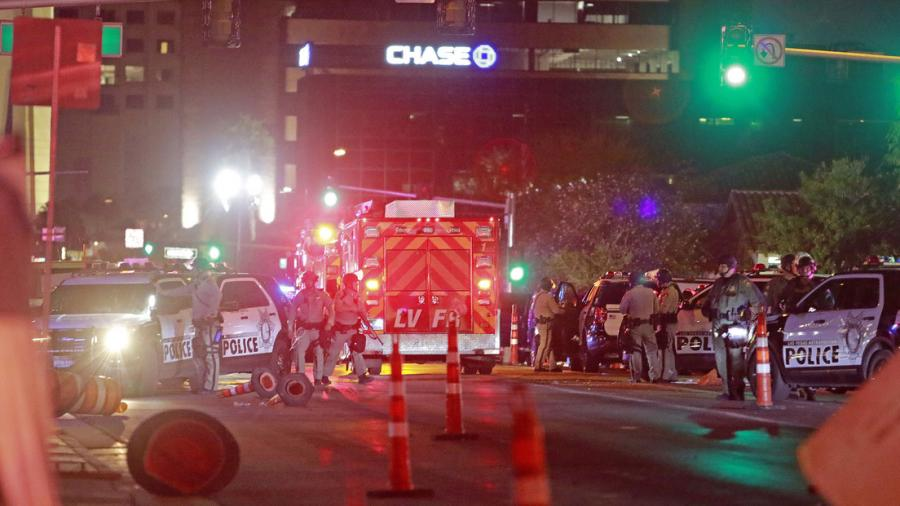 Se registran dos tiroteos en Las Vegas