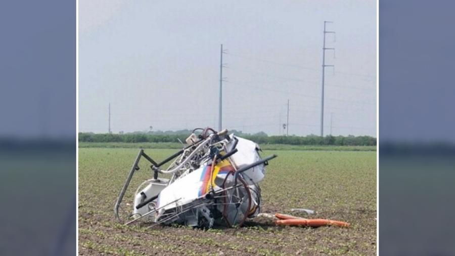 Reportan caída de helicóptero en Donna