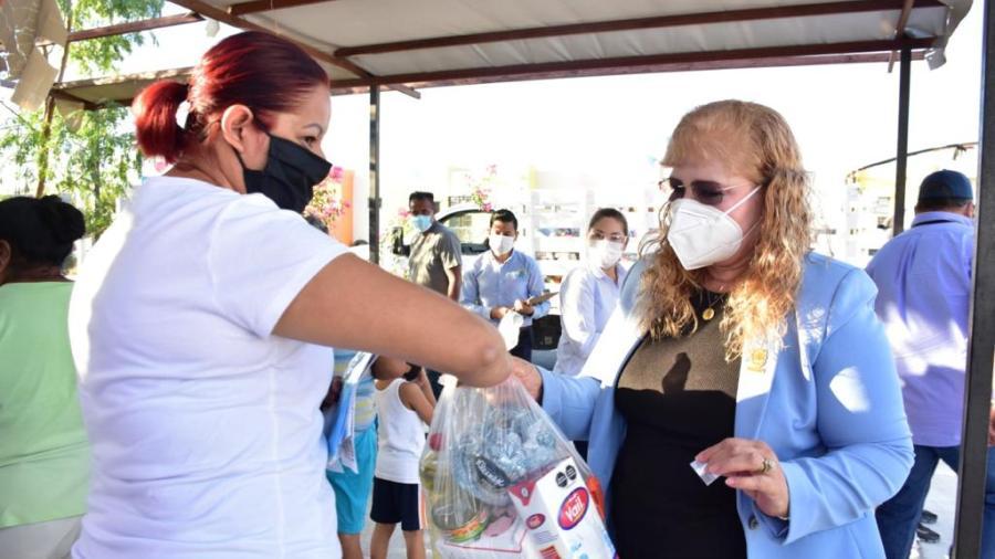 """""""DIF Reynosa en Tu Casa"""" llegó a las colonias Puerta Grande y Hacienda del Sol con diversos apoyos"""