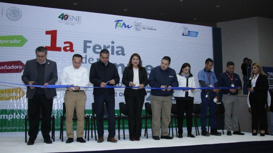 Ferias de Empleo, por un Tamaulipas más prospero en lo económico y social