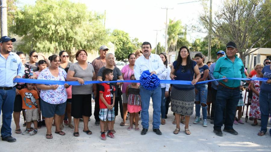 Entrega Alcalde de Río Bravo obras de infraestructura social