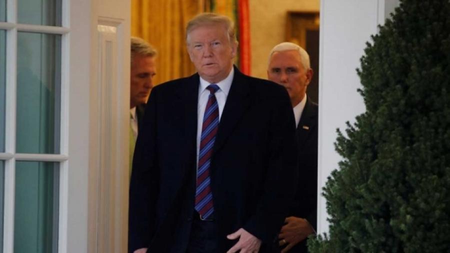Busca Trump poner fin a cierre de gobierno