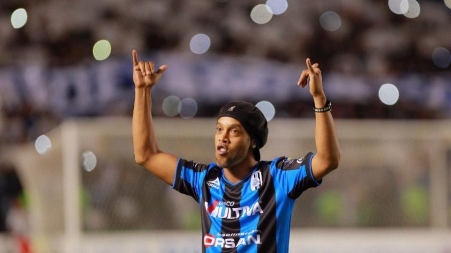 Ronaldinho jugará un partido con Zacatepec a beneficio del DIF