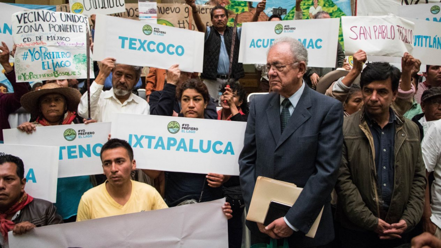 Respetaremos decisión de consulta popular del NAIM: Jiménez Espriú