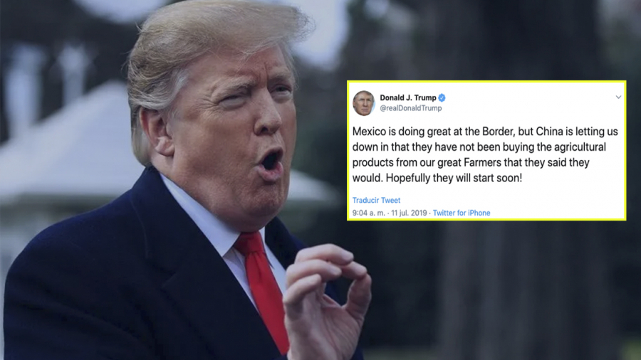 Donald Trump arremete contra China