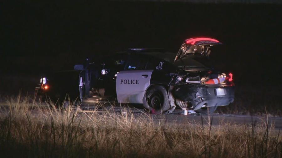 Atropellan a oficial de policia de Fort Worth, sospechoso conducía ebrio