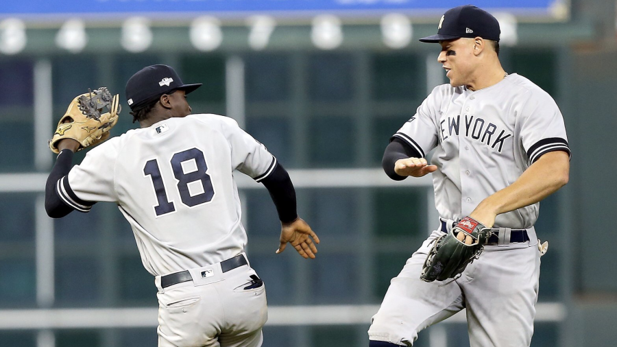 Yankees blanquea a Astros en el Juego 1 de la ALCS