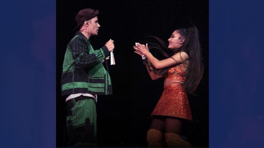 Ariana Grande cantó con Justin Bieber en Coachella