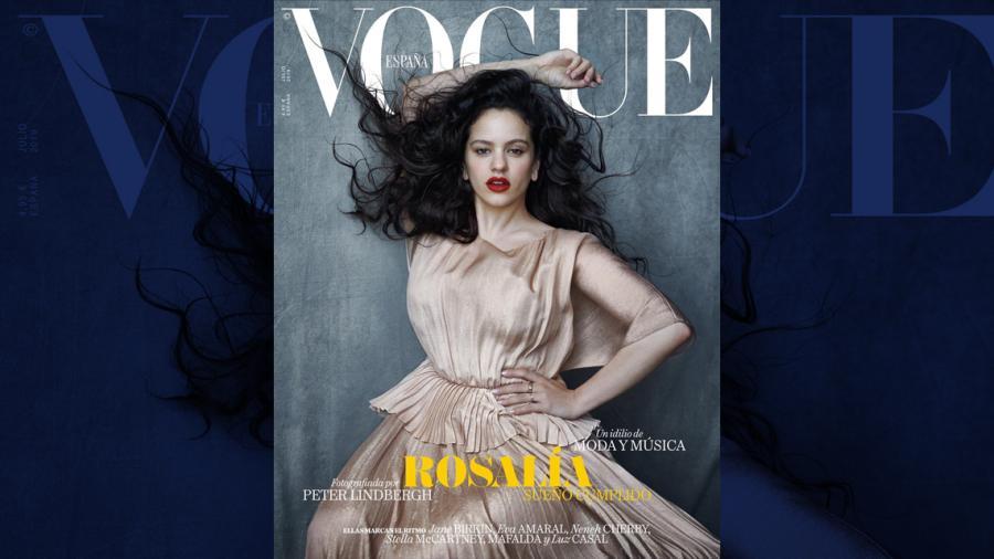 Rosalía es la nueva portada de Vogue España