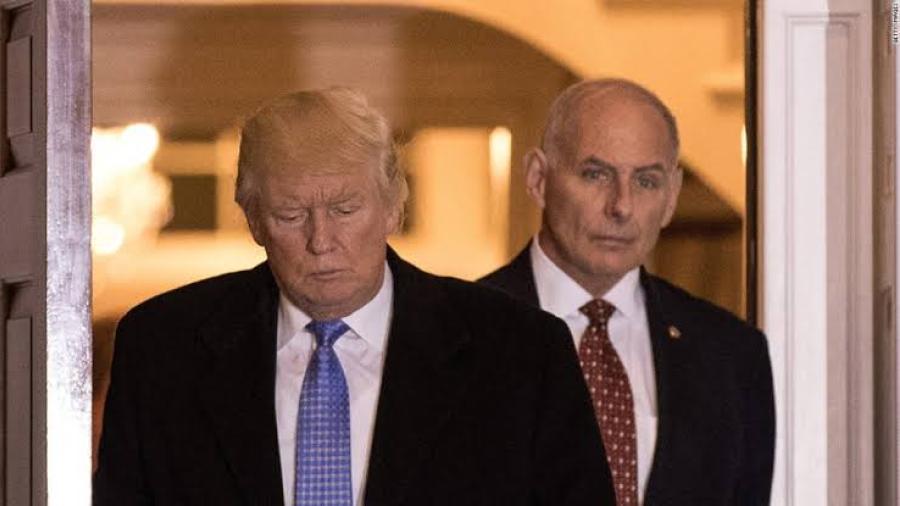 John Kelly, jefe de gabinete de Trump dejará el cargo