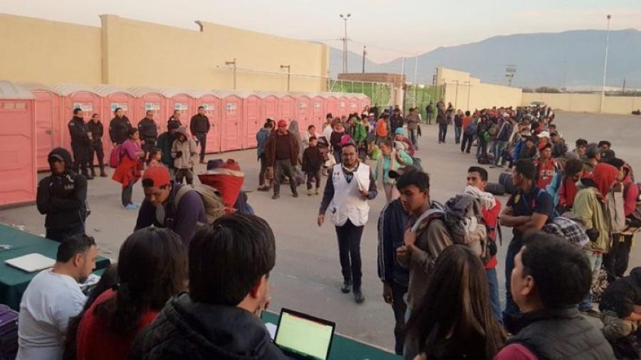 Atiende Sector Salud de Coahuila a migrantes centroamericanos