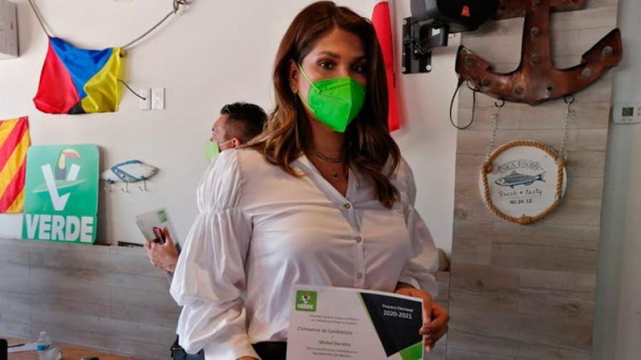 Entregan constancia a primera candidata trans de Tamaulipas