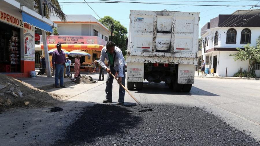 Continúa Madero con obras