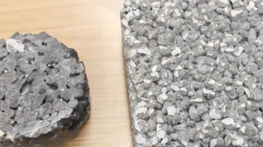 Estudiante de la UNAM crea placas de concreto que purifican agua y aire