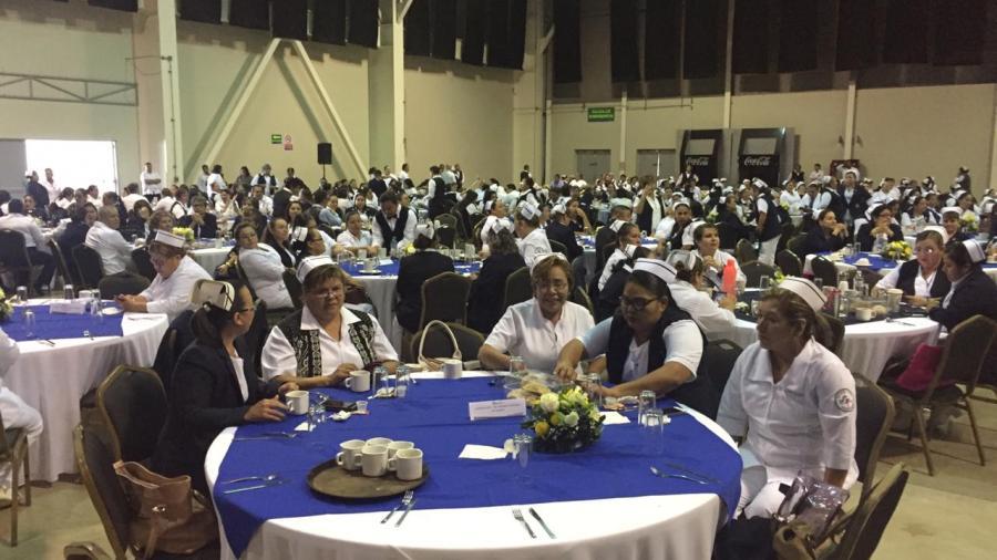 Reconoce Chucho Nader a las y los Enfermeros del Sur de Tamaulipas