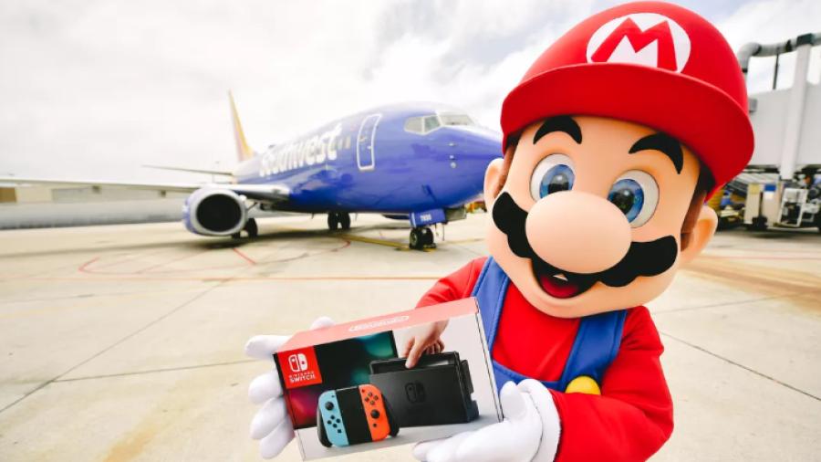 Aerolínea regala Nintendo Switch a sus pasajeros
