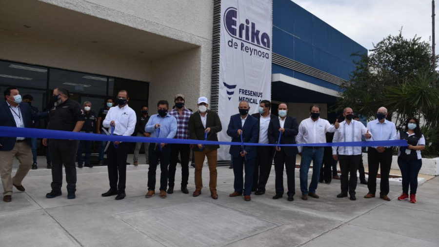 Erika Reynosa Norte inaugura nueva planta