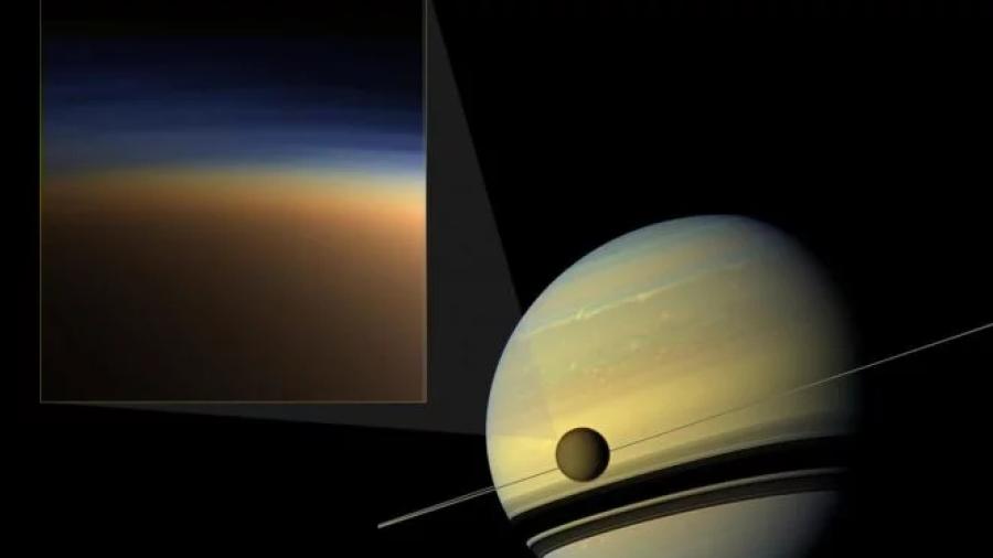 Más pistas sobre la misteriosa bruma que envuelve la luna más grande de Saturno