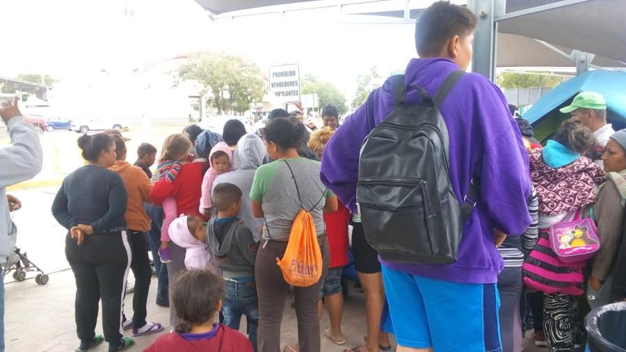 Desalojarán a migrantes en Puente Nuevo