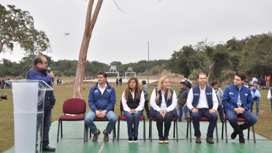 Reinauguran campos deportivos de la UT de Altamira