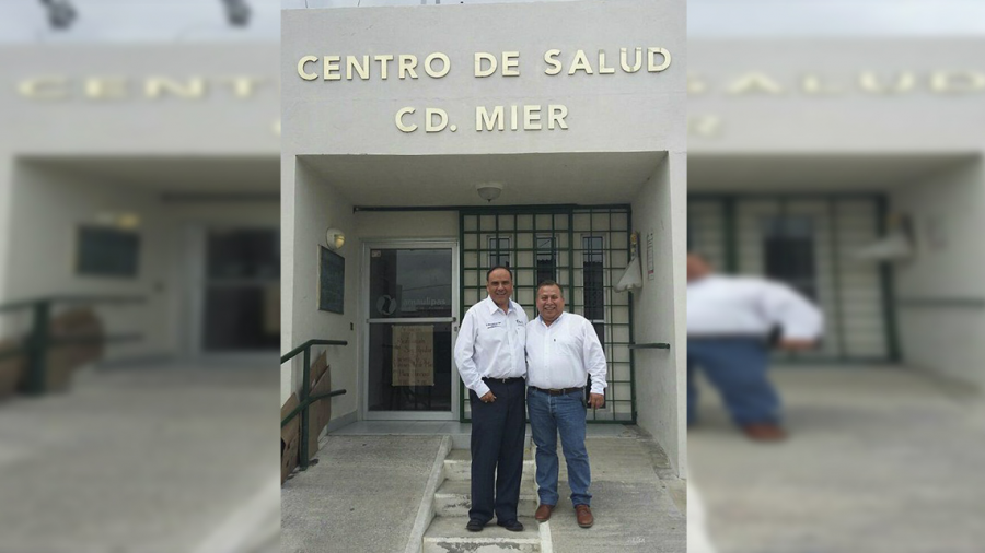 Supervisa Osvaldo Sáenz unidades médicas de la Frontera Chica