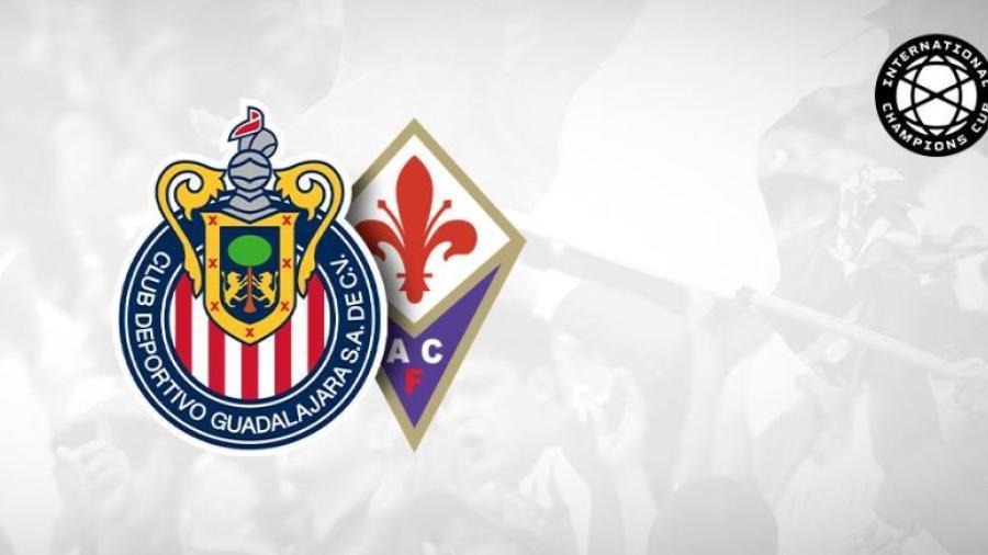 Chivas enfrentará a la Fiorentina en la Internacional Champions Cup 2019